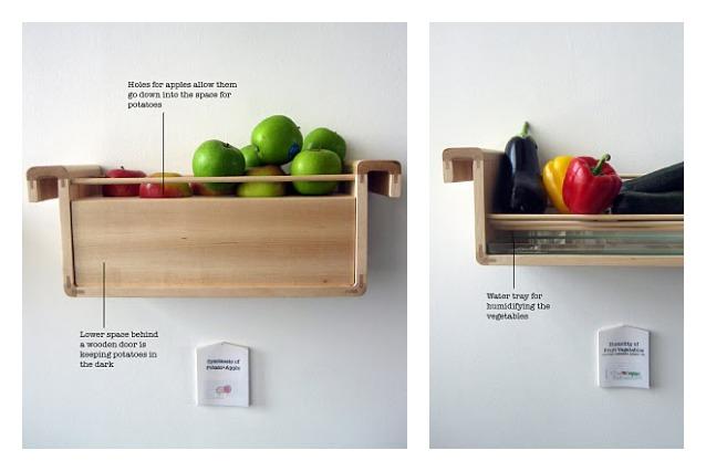É possibile vivere senza frigorifero? Il design che conserva i cibi senza elettricità