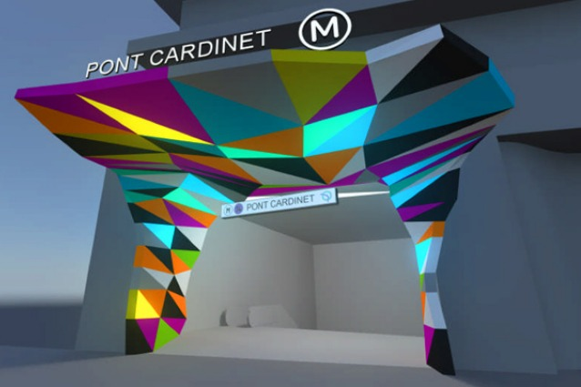 Torna l'arte nel Metro di Parigi: Tobias Rehberger al restyling della stazione Pont Cardinet