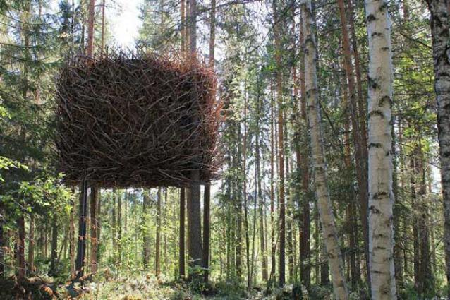 Estremamente Le case sull'albero più fantasiose al mondo XC21