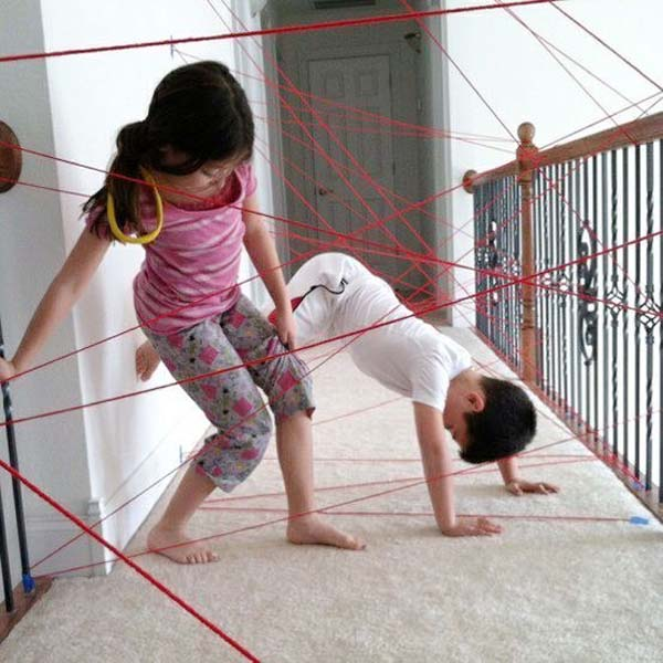 Eccezionale Un parco giochi domestico 20 modi per impegnare i propri bambini  SD45
