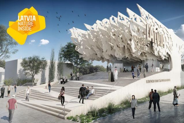 Falmec Per Expo Milano 2015 : La lettonia svela il design del suo padiglione per expo