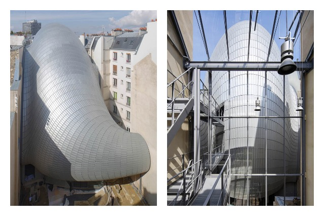Renzo Piano firma la nuova Fondation Pathé: un serpente striscia tra gli edifici di Parigi