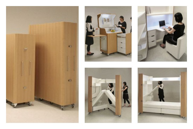 Idee Salvaspazio Camera Da Letto : Mobili salvaspazio trasformabili