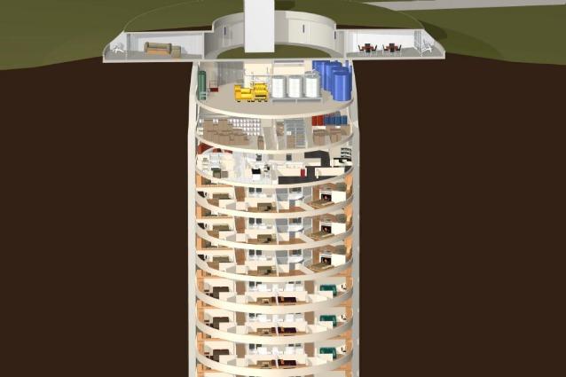 Condomini di lusso a prova di Apocalisse: ecco il rifugio atomico a cinque stelle