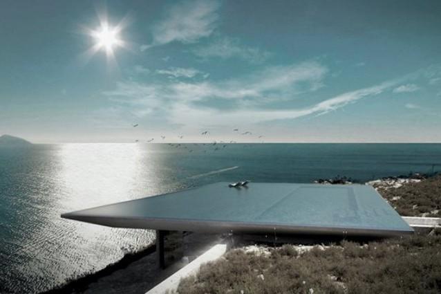 Mirage house vivere in un sogno a strapiombo sull 39 egeo - Piscine rocciose ...