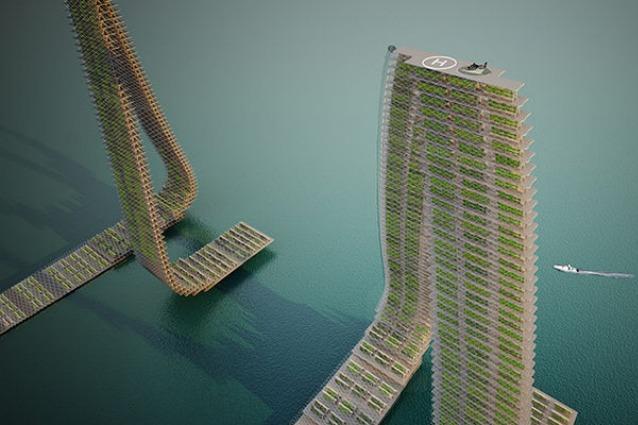 A Singapore l'orto è verticale