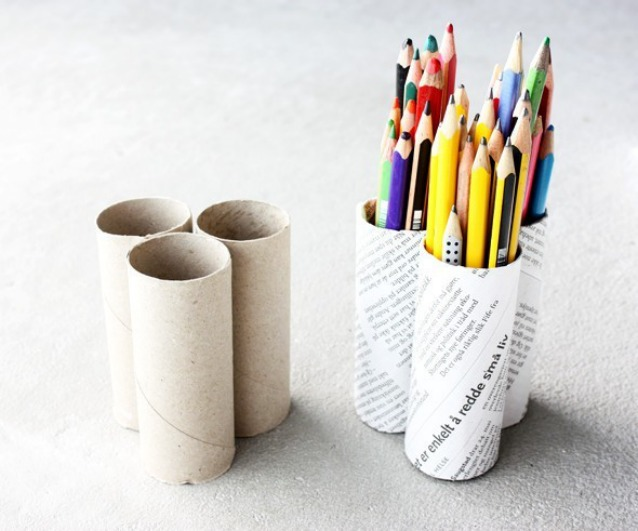 Ben noto Come riciclare i rotoli di carta igienica in modo creativo CO48