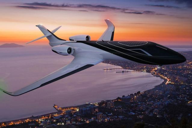 Jet Privato Piu Bello Del Mondo : Ixion il jet del futuro completamente panoramico