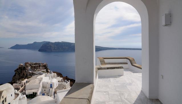 Le 10 ville di lusso pi belle della grecia in vacanza in for Case in stile mediterraneo
