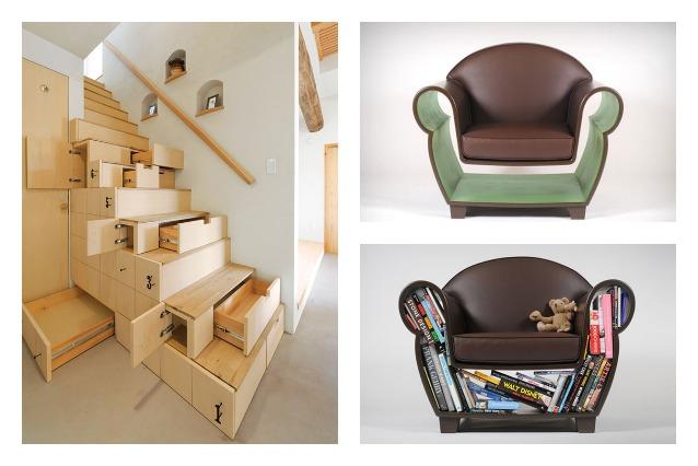 Idee salvaspazio le 20 migliori soluzioni per una casa for Migliori designer di mobili italiani