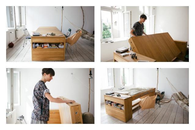 Workbed la scrivania che diventa letto for Lavoro arredamento milano