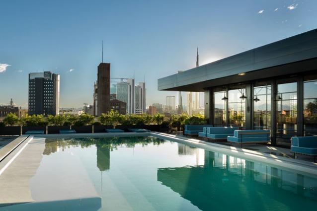 Le 10 terrazze pi belle di milano for Belle case con piscine