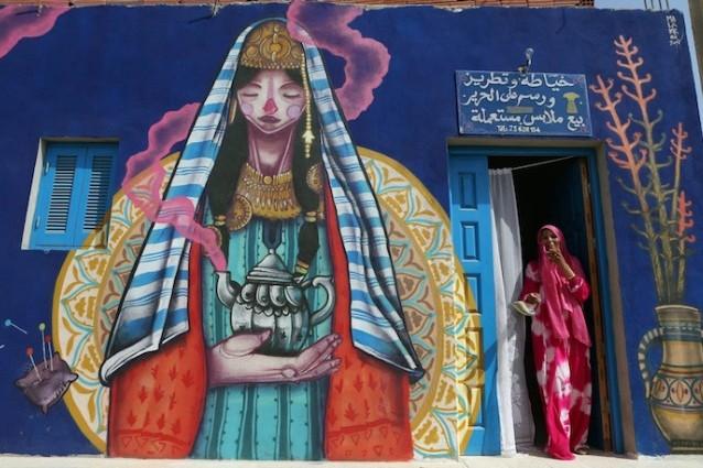 150 street artist per Djerba, da isola dei sogni a galleria d'arte