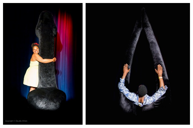 Bristol, sculture di genitali giganti in nome dell'amore
