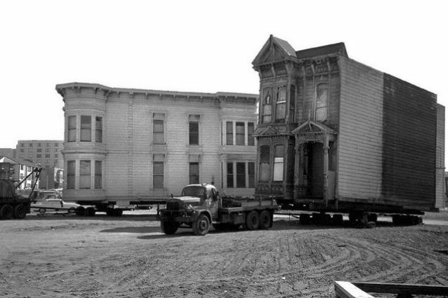 Le case mobili di San Francisco: ecco come nascono i quartieri della città
