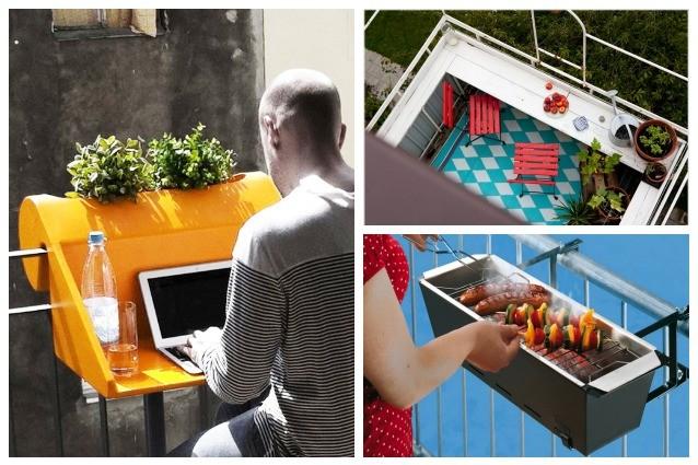 10 idee creative per arredare il vostro balcone for Arredare il balcone