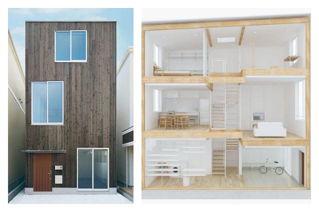 Progetta la tua casa con la prima abitazione prefabbricata di muji - Progetta la tua casa ...