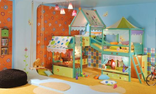 Come arredare le stanze dei bambini - Sponde letto bambini prenatal ...