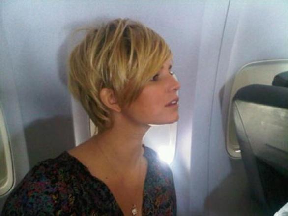 Simona ventura taglio capelli 2016