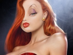 jessica rabbit, primo piano
