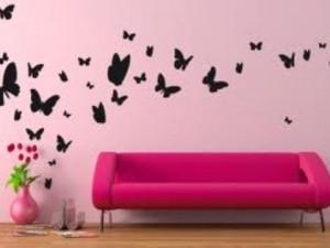 come decorare le pareti con stickers murali consigli per rinnovare ... - Come Abbellire Le Pareti Di Casa