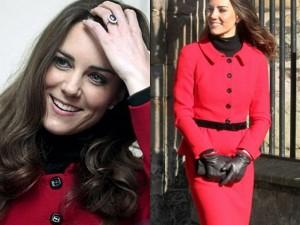 Kate St Rosso Tailleur La Luisa Visita A Per In Spagnoli Middleton w4qSUxw6g