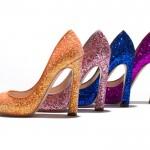 Miu Miu trio di glitter colorati