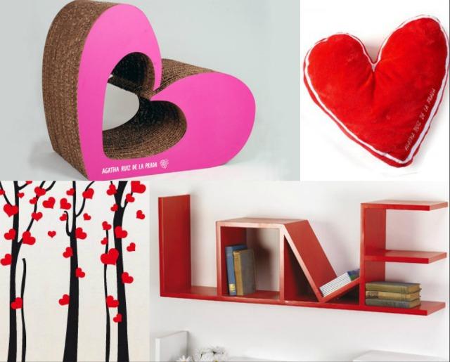 Casa romantica per san valentino for Oggetti originali per la casa