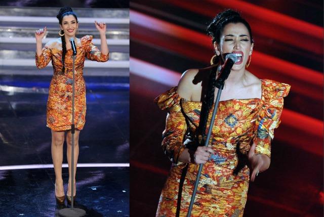 Nina Zilli Sanremo 2012 seconda serata