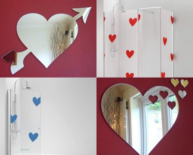 Casa romantica per san valentino - Tende per doccia rigide ...