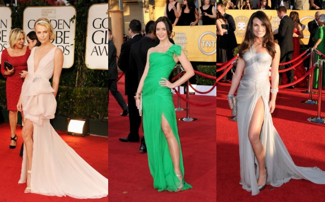 Charlize theron Emily Blunt Lea Michele