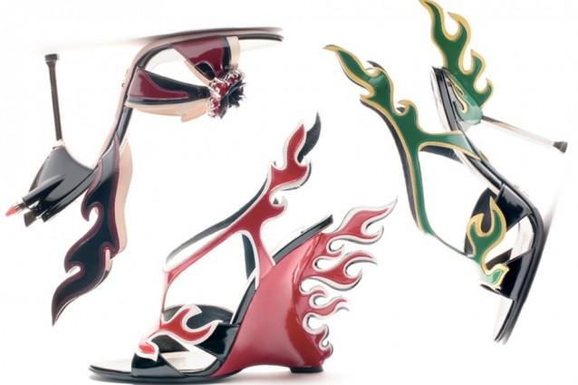 Décolleté e sandali alti per la Primavera Estate 2012