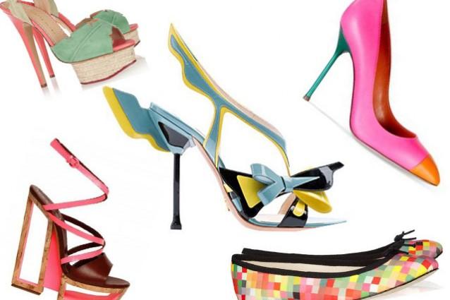 Le scarpe più originali per la PrimaveraEstate 2012