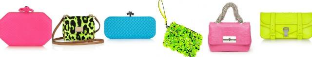 fluo minibag e pochette