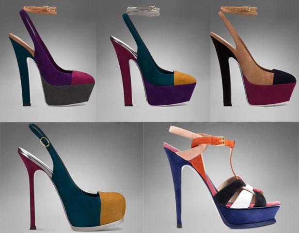 Scarpe-color-block-di-Yves-Saint-laurent