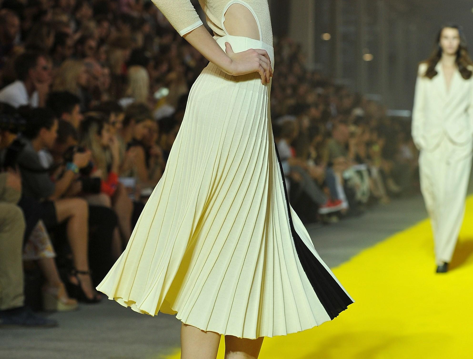 L'eleganza del plissé torna di moda