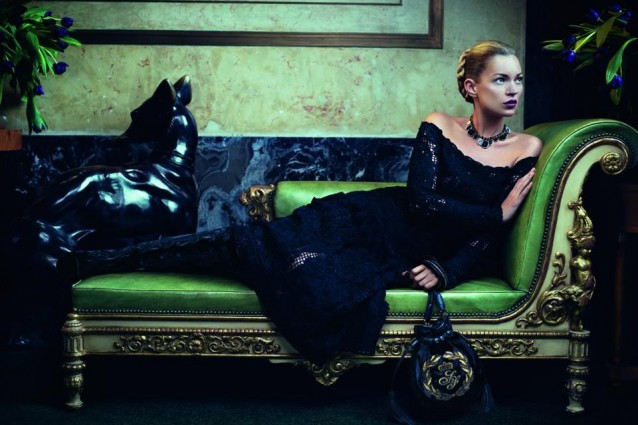 Kate Moss per Salvatore ferragamo