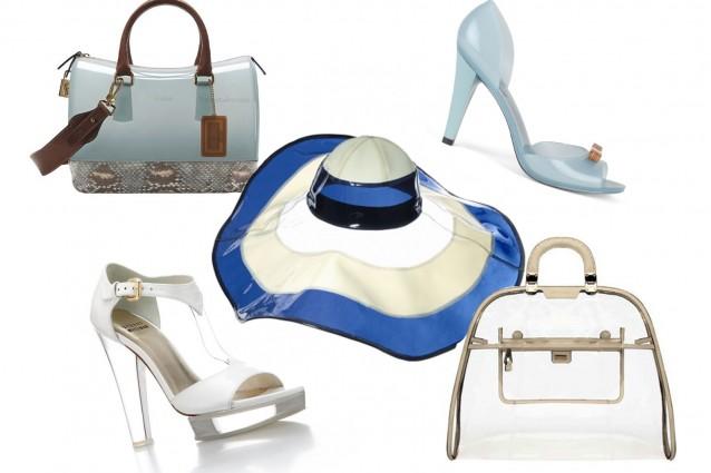 Una moda di plastica: scarpe e borse da spiaggia