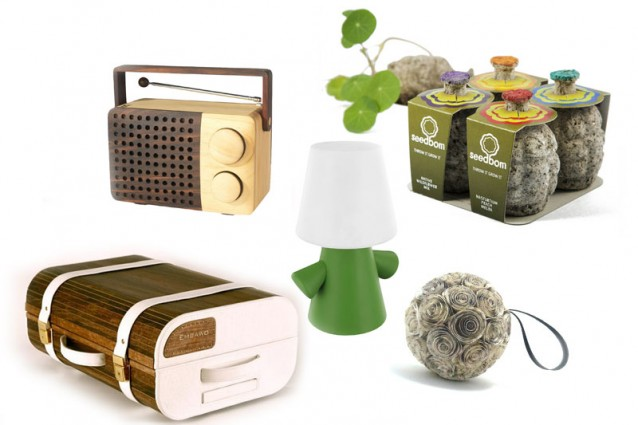Idee regalo ecosostenibili per un natale green for Oggetti design regalo