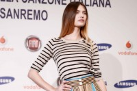 Bianca Balti a Sanremo 2013, il nude look per la finale
