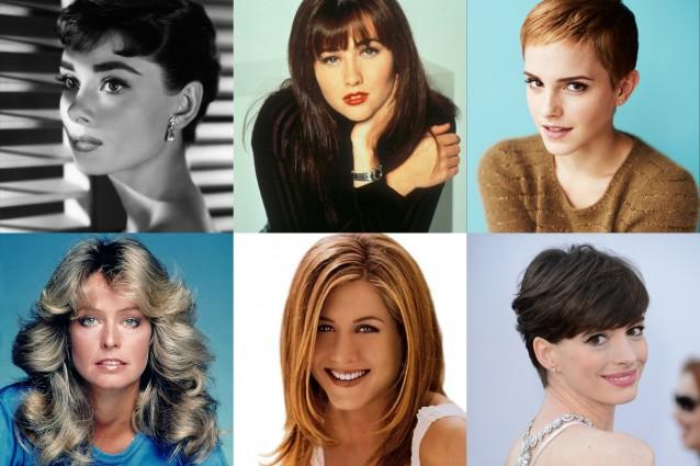 Tagli capelli corti anni 90