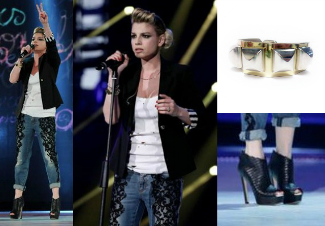 Acconciatura emma marrone amici