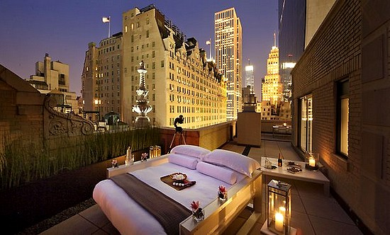 Dormire sotto le stelle a new york un lusso da 2mila for Hotel centro new york