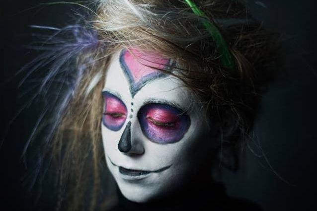 Popolare Crea un trucco da Sugar Skull per Halloween (TUTORIAL) SP69