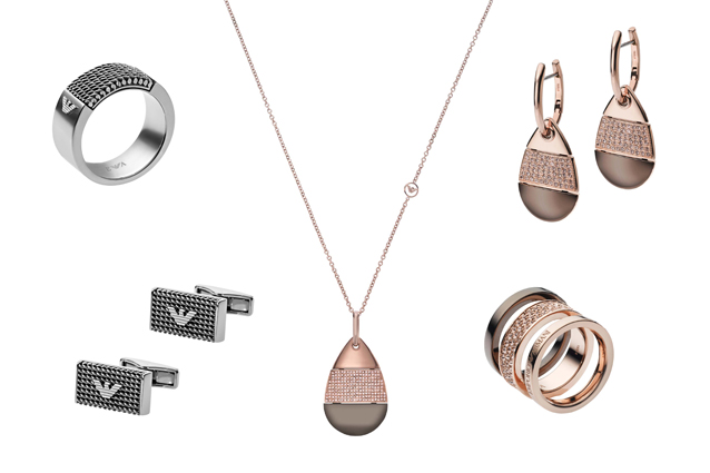 Idee regalo per il natale 2013 i gioielli di emporio armani for Gioielli di design