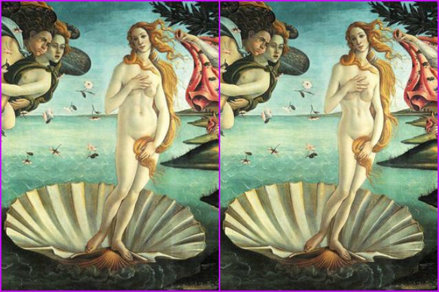 La Venere di Botticelli più magra grazie a Photoshop (FOTO)