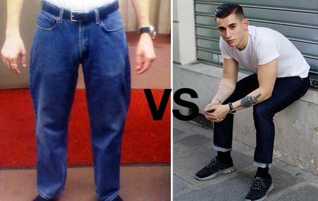 Giubbotto jeans anni 90 uomo
