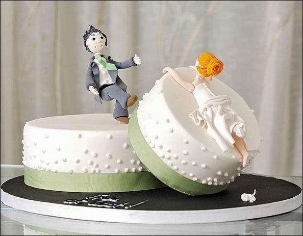 Le torte per il matrimonio più strane del mondo (FOTO)