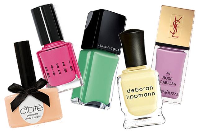 Colori pastello per le unghie: il trend per la primavera (FOTO)