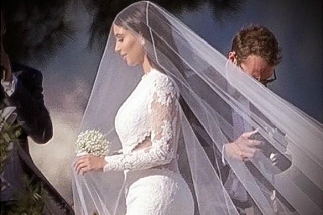 Abito matrimonio kim kardashian
